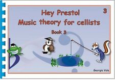 Vale: Hey Presto Music Theory for Cellists Book 3 (Cello... HEYT23