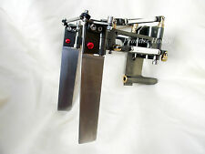 "dual rudder with strut for 1/4"" prop shaft cable 23-35cc gas or nitro rc boat"