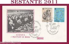 ITALIA FDC ROMA EUROPA I TRATTATI DI ROMA ANNULLO ROMA 1982 G869