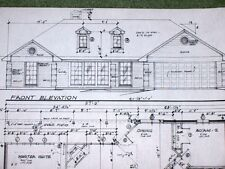 Custom Home Plan 3 Bed 2 Bath 1 Story 2 Car Garage 1441 A/C Sq. Ft 2172 Total