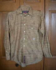 Pepe Jeans London Botton Front Shirt Men's MED MINT Long Sleeved Western