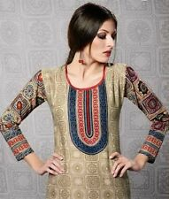 Indian Bollywood Kurta Kurti Designer Women Ethnic Dress Top Tunic Pakistani xxl