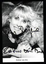Esther von Arx Autogrammkarte Original Signiert ## BC 25569