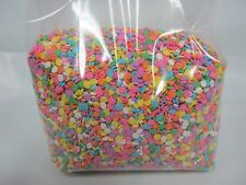 Edible Confetti Sequins Sprinkles Pastel Colors 12 oz candy cake decorating