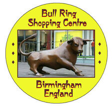 BIRMINGHAM BULL RING - FRIDGE MAGNET OR KEYRING L@@K