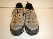 Men's COLUMBIA Sz 12 Brown Suede and Canvas Lace Up Trail Hiking Shoe's