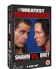 WWE SHAWN MICHAELS VS BRET HART WRESTLING GREATEST RIVALRIES DVD NEW SEALED