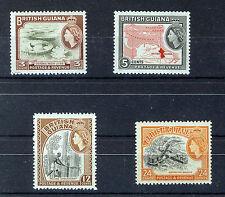 BRITISH GUIANA 1963-65 DEFINITIVES SG354/360  MNH