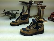 MADE IN ITALY VINTAGE BROWN VASQUE DISTRESSED LACE UP HIKING TRAIL BOOTS 8 M