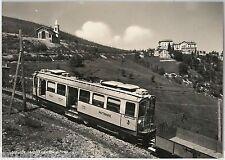 55875 -- CARTOLINA d'Epoca - LAGO MAGGIORE:  MOTTARONE  Ferrovia
