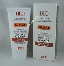 GUAM DUO Crema Forte PANCIA e GIROVITA azione calda Tummy and Waist Cream 150ml