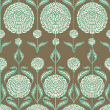 Birch Farm Chrysanthemum Blossoms - Burlap by Joel Dewberry quilting fabric
