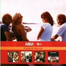 ABBA - ABBA X4-4 ORIGINAL ALBUMS  (4 CD)  INTERNATIONAL POP  NEU