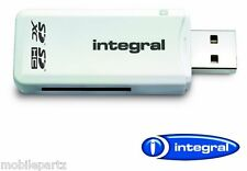 Integral Universal Secure Digital SD to USB 2.0 Single Slot Memory Card Reader