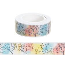 1pcs 15mmx10m trunk Washi Tape DIY Scrapbooking Sticker Masking Tape!