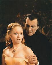 Linda Hayden & Christopher Lee UNSIGNED photo -2117- Taste the Blood of Dracula