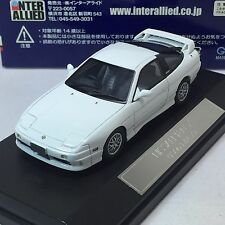 1/43 Scale Hi-Story Nissan 180SX S14 1996 Type X Mid White No. HS017