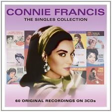 Connie Francis SINGLES COLLECTION Best Of 60 Songs ESSENTIAL New Sealed 3 CD
