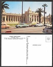 Old California Postcard - Riverside - County Court House