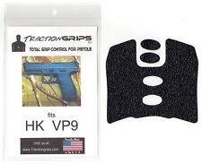 Tractiongrips brand grip rubber overlay decal for H&K VP9 pistols / HK VP 9