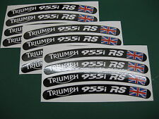 12 Triumph 955i RS Wheel Rim Stickers with the Union Flag