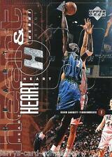 "Kevin Garnett-Stephon Marbury 1998-99 Upper Deck ""Heart & Soul"" #95 Timberwolves"