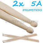 Two Pair of New Maple Wood 5A Drum Sticks Drumsticks