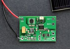 Indoor Solar Energy Harvesting battery charger with protection