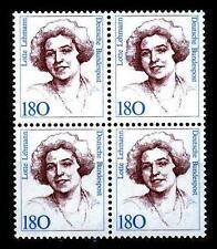 BUND Frauen  180 Pf. **, Mi. 1427 -  VIERERBLOCK