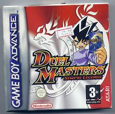 DUEL MASTERS Sempai Legends x GAME BOY ADVANCE, EDIZIONE ITALIANA, ORIGINALE