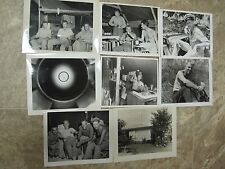 8- WW2 Photos US Navy 33rd Construction Battalion in Phillipines- Men & Officers