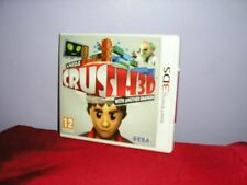 CRUSH 3D: A Puzzle With Another Dimension GAME Nintendo 3DS ~ NEW / SEALED