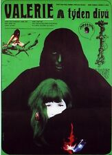 VALERIE AND HER WEEK OF WONDERS Amazing A1 Original Czech Poster JAROMIL JIRES