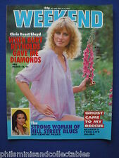 Weekend Magazine - Chris Evert Lloyd, Veronica Hamel    6th July 1983
