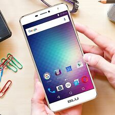 BLU Studio XL 2 LTE (16GB) 6.0 HD, 4G 13MP Dual SIM Android UNLOCKED S0270U GOLD