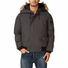 NWT Authentic Canada Goose Men's Graphite Grey Chilliwack Bomber Jacket - Size M