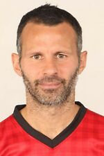 Football Photo RYAN GIGGS Man Utd 2012-2013