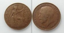 Collectable 1919 King George V Bronze One Penny