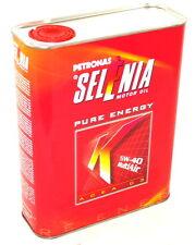 Fiat Selenia K Pure Energy Engine Oil 2lt MultiAir 5W40 New Genuine 14113707