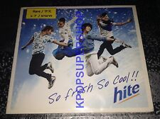 Big Bang So Fresh So Cool Hite Beer Single CD VCD Great Cond BIGBANG RARE GD TOP