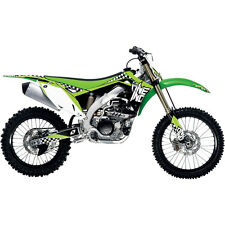 KAWASAKI KXF 250 ONE INDUSTRIES CHECKERS GRAPHICS STICKER KIT KX250F 09 10 11 12