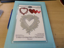 Sizzix Framelits, Frame, Heart with Crown 657555 XMAS SPECIAL