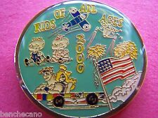2003 Gladiators KIDS OF ALL AGES Multi-Color Mardi Gras Doubloon