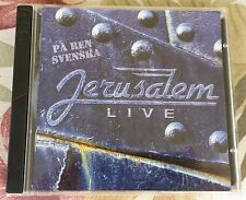 Jerusalem -- LIVE: PÅ REN SVENSKA -- Rare 2-CD 1998 SWEDISH language live album!
