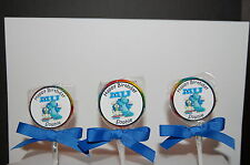 15 Monsters Inc Personalized Birthday Lollipops