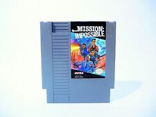 MISSION: IMPOSSIBLE Nintendo NES cartridge NTSC videogame