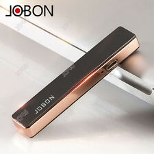 JOBON USB Charging Ultra thin windproof Zinc Alloy Cigar Cigarette Lighter