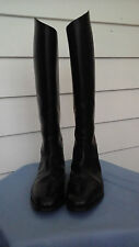 CAVALLO BLACK LEATHER EQUESTRIAN HORSE RIDING MENS BOOTS SZ 9.5