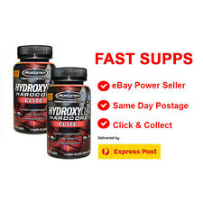 2 X MUSCLETECH HYDROXYCUT HARDCORE ELITE 110 CAPSULES WEIGHT LOSS EXPRESS POST