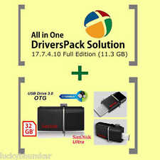 ✔️ Driver Pack Solution 17.7.24 [Jan 2017] + 32 GB SanDisk OTG Pendrive